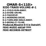 Cover art - Omar S: Side Trakx Volume 1