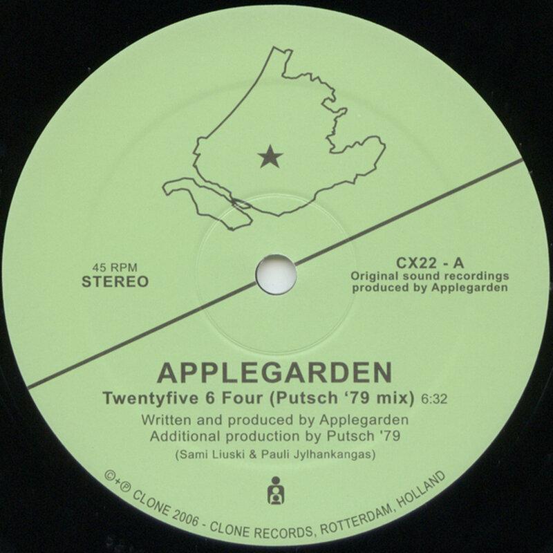 Cover art - Applegarden: Twentyfive 6 Four
