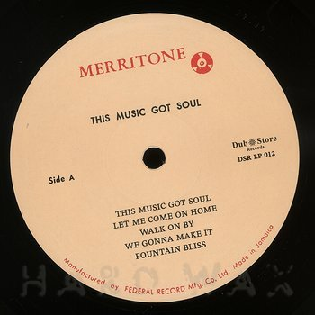Cover art - Various Artists: Merritone Rock Steady 2: This Music Got Soul 1966-1967