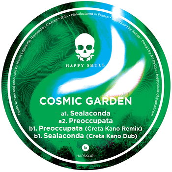 Cover art - Cosmic Garden: Sealaconda EP