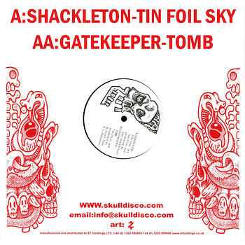 Cover art - Shackleton vs. Gatekeeper: Soundboy's Bones Get Buried In The Dirt Volume 1