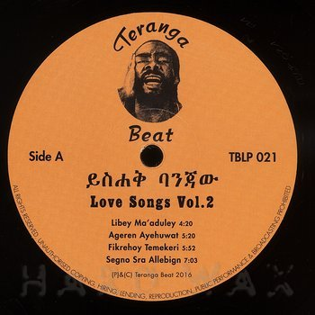 Cover art - Yishak Banjaw: Love Songs Vol. 2