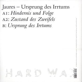 Cover art - Jaures: Ursprung Des Irrtums