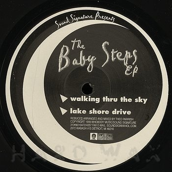 Cover art - Theo Parrish: Baby Steps