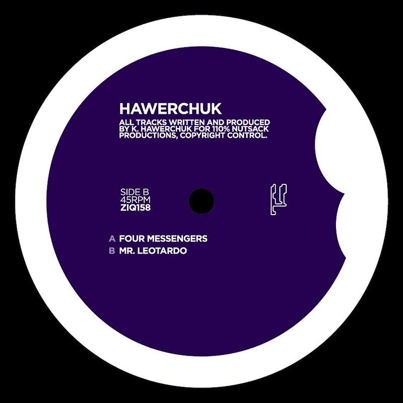 Cover art - Hawerchuk: Four Messengers