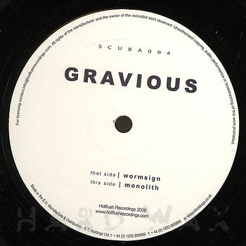 Cover art - Gravious: Wormsign