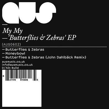 Cover art - My My: Butterflies & Zebras' EP