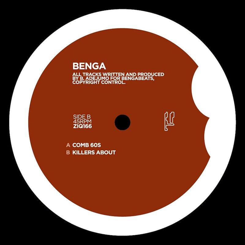 Cover art - Benga: Comb 60s