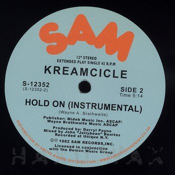 Cover art - Kreamcicle: Hold On