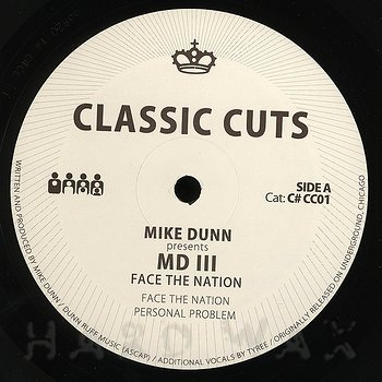 Cover art - Mike Dunn: presents MD III: Face The Nation