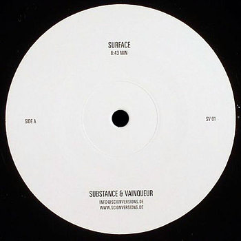 Cover art - Substance & Vainqueur: Surface