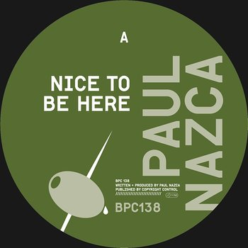 Cover art - Paul Nazca: Nice To Be Here