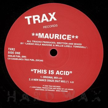 Cover art - Maurice: This Is Acid