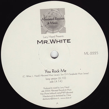 Cover art - Mr. White: You Rock Me