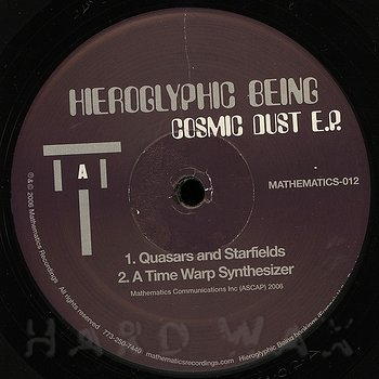 Cover art - Hieroglyphic Being: Cosmic Dust EP