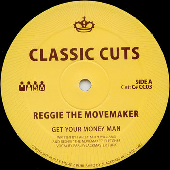 Cover art - Reggie The Movemaker: Get Your Money Man