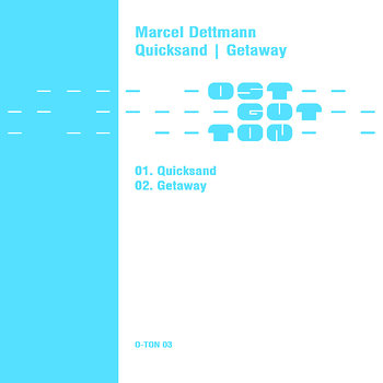 Cover art - Marcel Dettmann: Quicksand