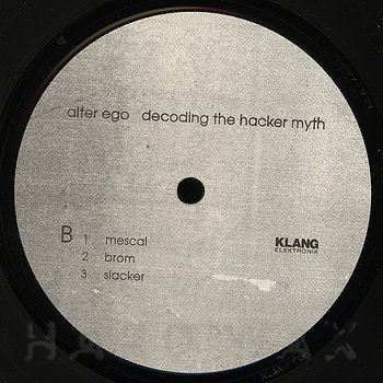 Cover art - Alter Ego: Decoding The Hacker Myth