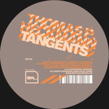 Cover art - Thomas P. Heckmann: Tangents