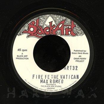 Cover art - Max Romeo: Fire Fe The Vatican