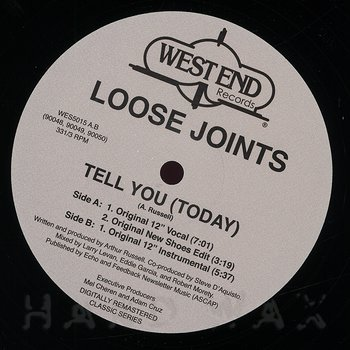 Cover art - Loose Joints: Tell You (Today)