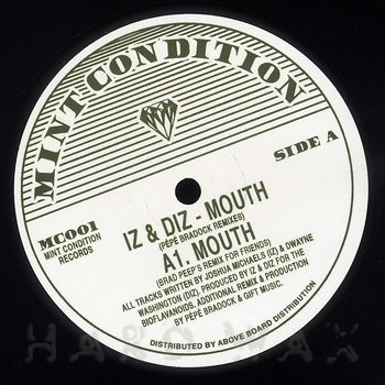 Cover art - Iz & Diz: Mouth - Unreleased Pépé Bradock  Mix