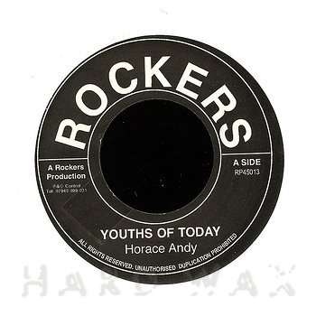 Cover art - Horace Andy: Youths Of Today