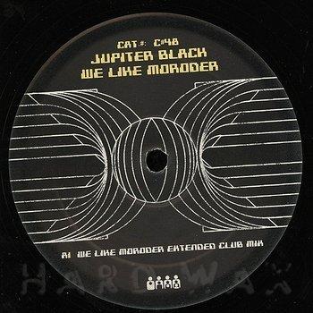 Cover art - Jupiter Black: We Like Moroder