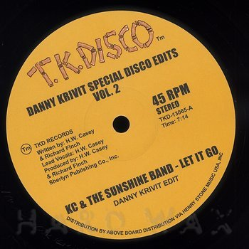 Cover art - KC & The Sunshine Band / Gwen McCrae: Danny Krivit Special Disco Edits Vol. 2