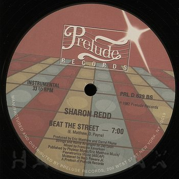 Cover art - Sharon Redd: Beat The Street