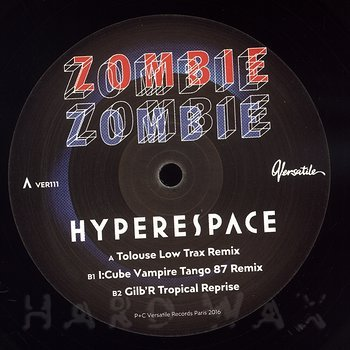 Cover art - Zombie Zombie: Hyperspace Remixes