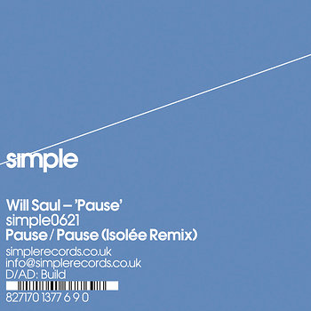 Cover art - Will Saul: Pause