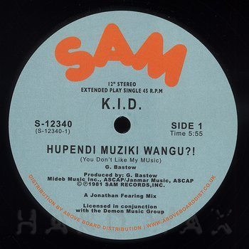 Cover art - K.I.D.: Hupendi Muziki Wangu?! (You Don't Like My Music)