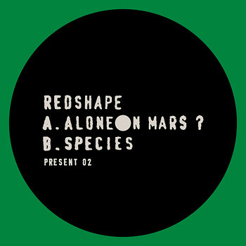 Cover art - Redshape: Alone On Mars?