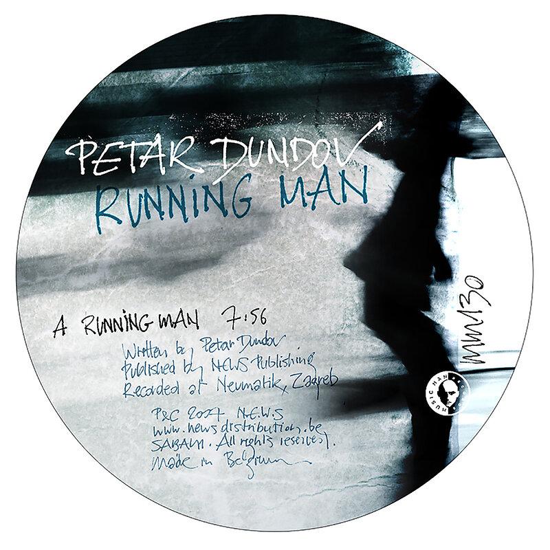 Cover art - Petar Dundov: Running Man