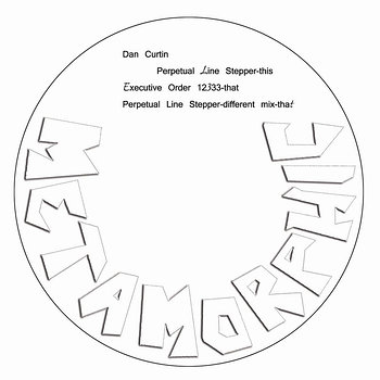 Cover art - Dan Curtin: Perpetual Line Stepper