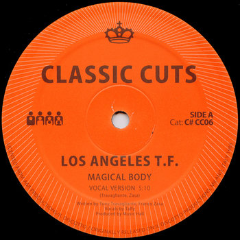 Cover art - Los Angeles T.F.: Magical Body