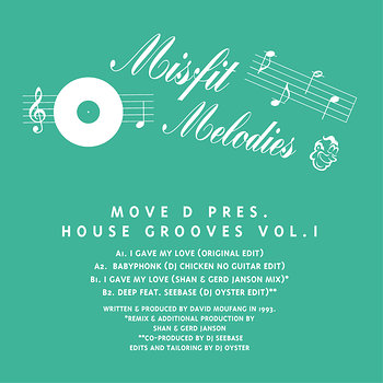 Cover art - Move D: Presents House Grooves Vol. 1