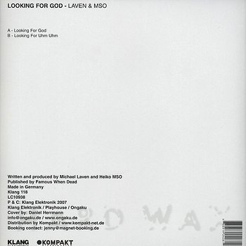 Cover art - Laven & MSO: Looking For God