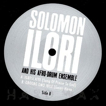 Cover art - Solomon Ilori And His Afro-Drum Ensemble: Igbesi Aiye
