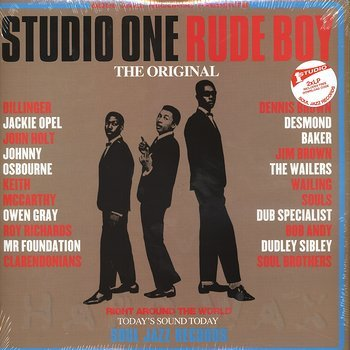 Cover art - Various Artists: Studio One Rude Boy