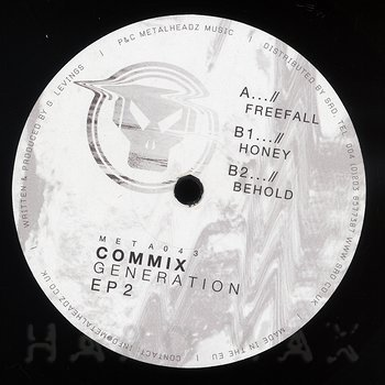 Cover art - Commix: Generation EP 2