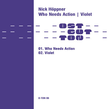 Cover art - Nick Höppner: Who Needs Action