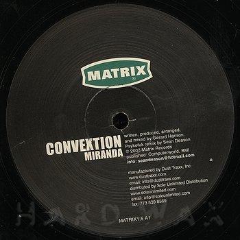 Cover art - Convextion: Miranda Remixes