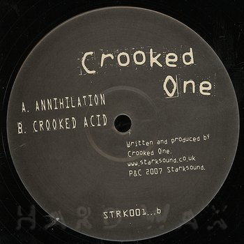 Cover art - Crooked One: Annihilation