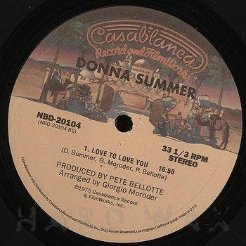 Cover art - Donna Summer: I Feel Love