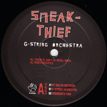 Cover art - Sneakthief: G-String Orchestra