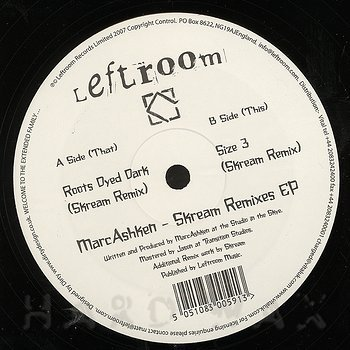 Cover art - Marc Ashken: Skream Remixes EP