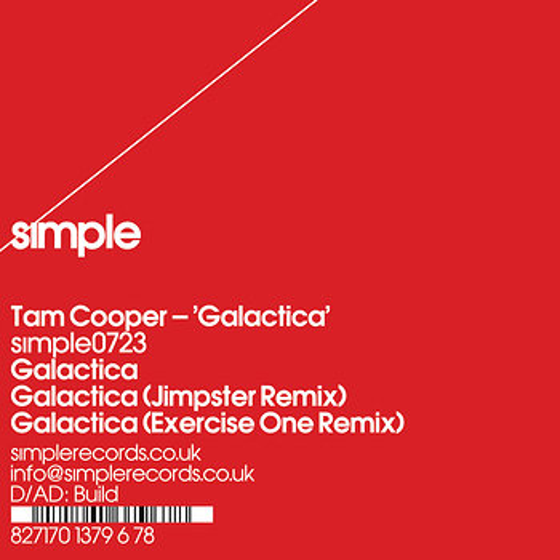 Cover art - Tam Cooper: Galactica