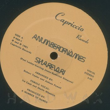 Cover art - A Number Of Names: Sharevari